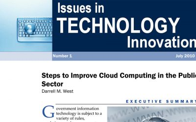 Steps to improve Cloud Computing in the Public Sector