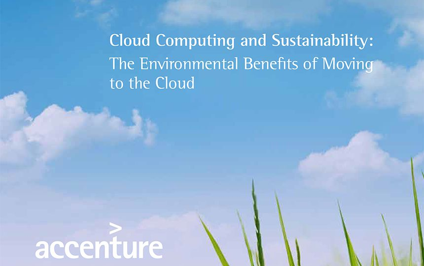 Cloud Computing and Sustainability