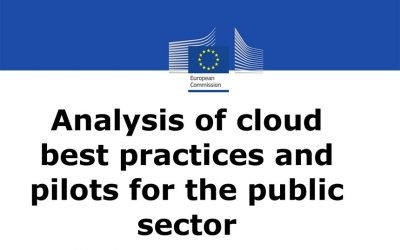 Analysis of cloud best practices and pilots for the public sector
