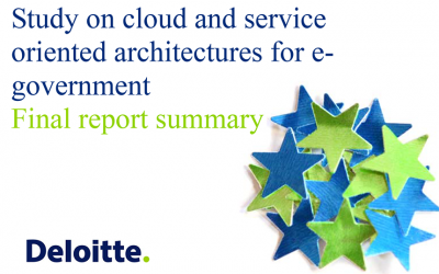 Study on cloud and service oriented architectures for e-government