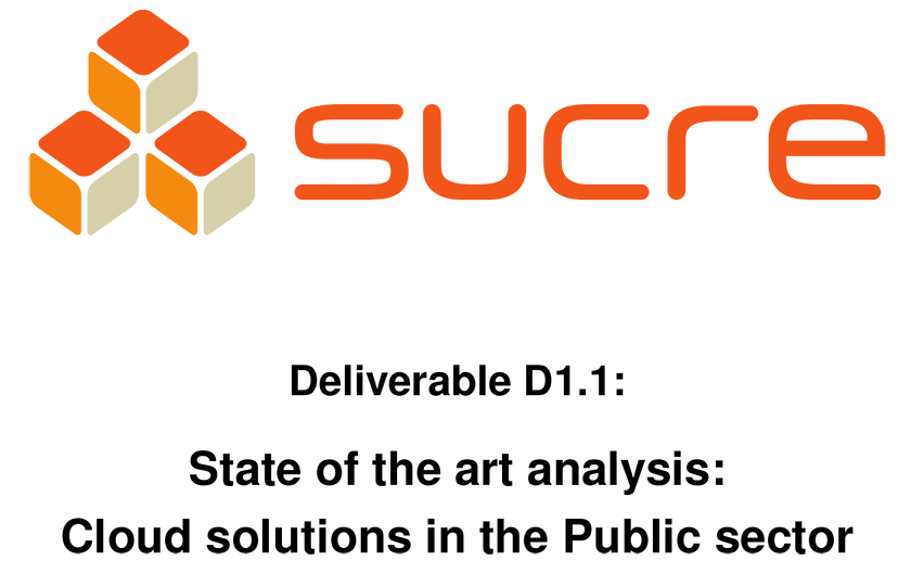 State of the art analysis: Cloud solutions in the Public sector
