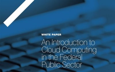 An Introduction to Cloud Computing in the Federal Public Sector
