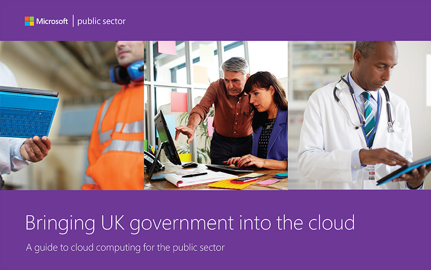Bringing UK government into the cloud: A guide to cloud computing for the public sector