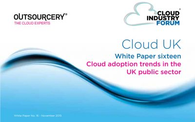 Cloud adoption trends in the UK public sector