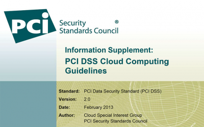 PCI DSS Cloud Computing Guidelines