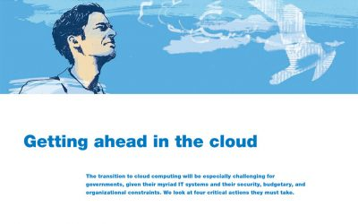 Getting ahead in the cloud