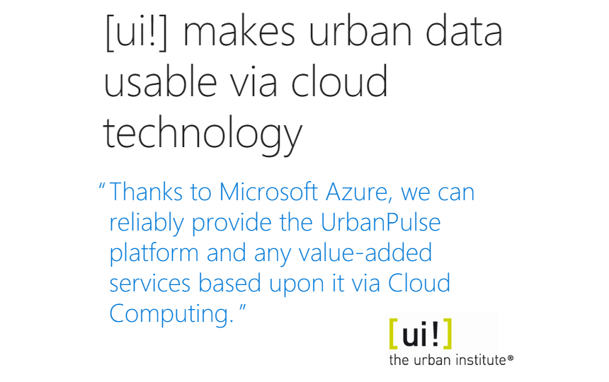 [ui!] makes urban data usable via cloud technology