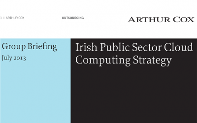 Irish Public Sector Cloud Computing Strategy
